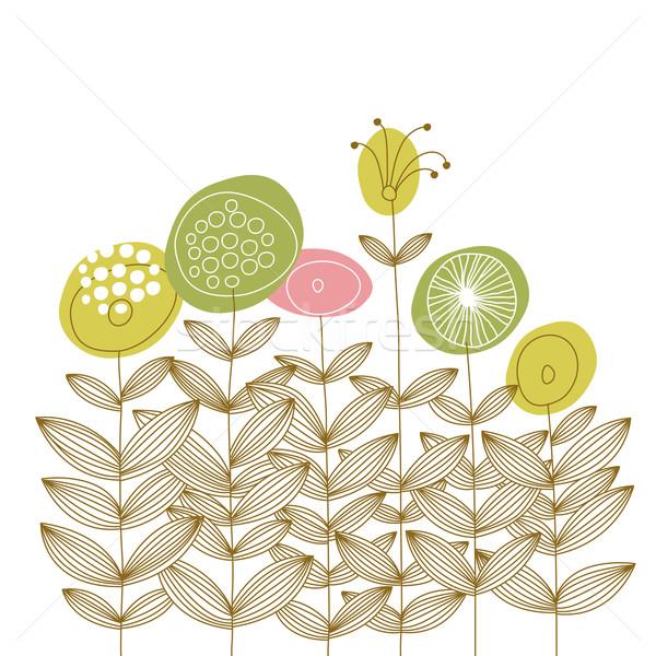 花 グリーティングカード 花 歳の誕生日 美 芸術 ストックフォト © Lenlis