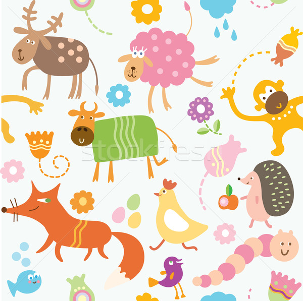 Cute cartoon animal wallpapers
