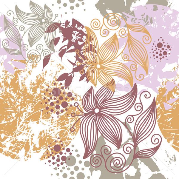 テクスチャ 抽象的な デザイン 葉 芸術 ストックフォト © Lenlis