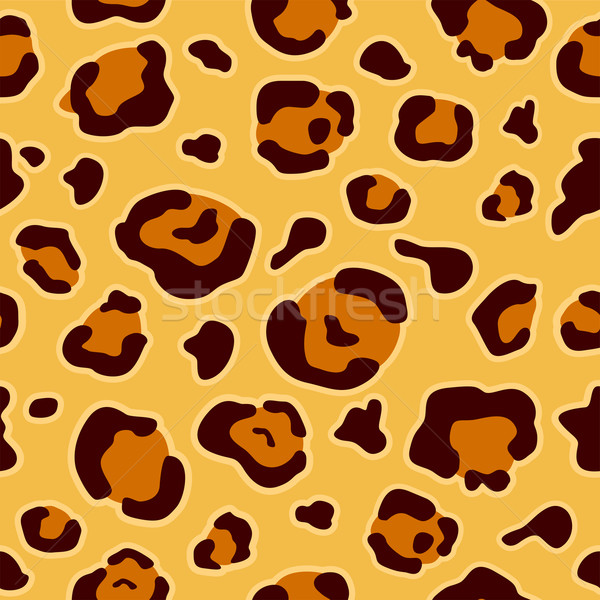 Stock photo: Leopard Animal Print Background