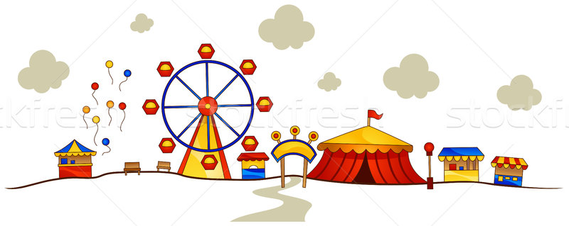 Theme Park Stock photo © lenm