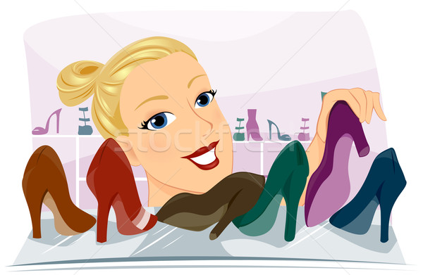Shoes Stock photo © lenm