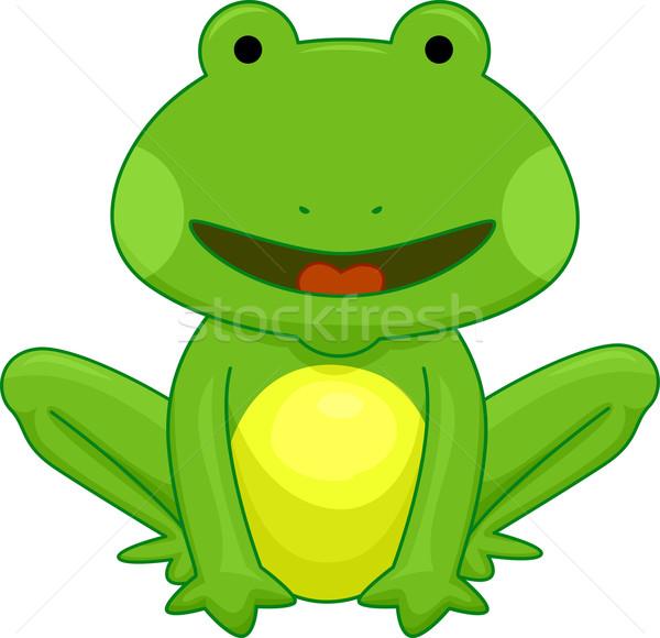 Frog Stock photo © lenm