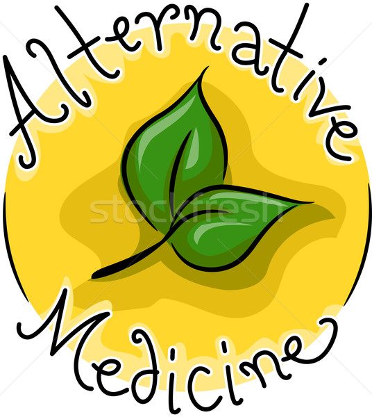 Alternative Medicine Stock photo © lenm
