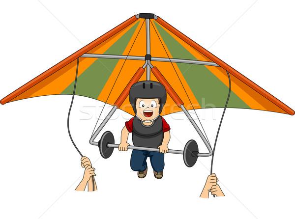 Hang Gliding Stock photo © lenm
