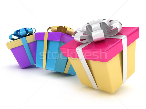 Gifts Stock photo © lenm