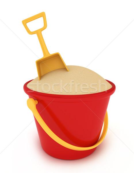 Sand Bucket Stock photo © lenm