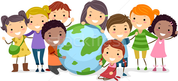 Stock photo: Earth Kids