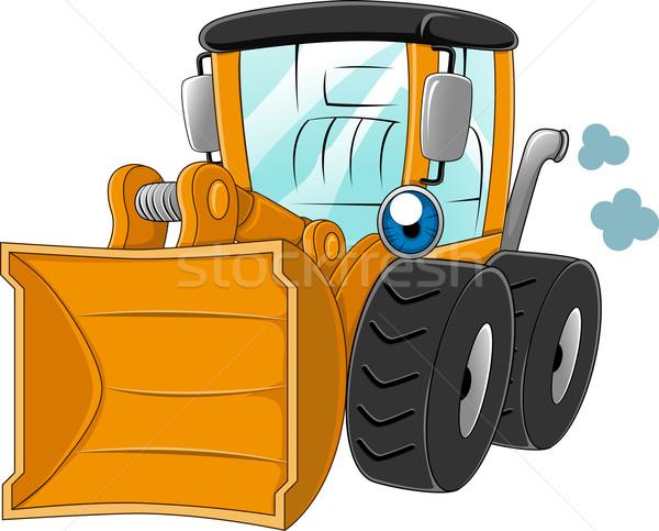 Kerék illusztráció gép mérnöki vektor clip art Stock fotó © lenm