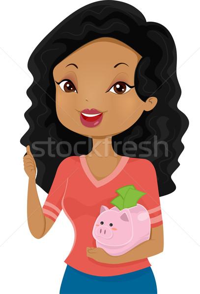 Piggy Bank Stock photo © lenm