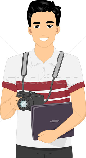 Digital Photographer Stock photo © lenm