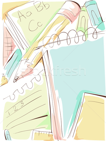 Education Design Sketch Stock photo © lenm