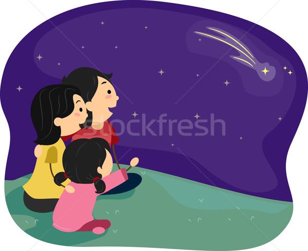 Stargazing Stock photo © lenm