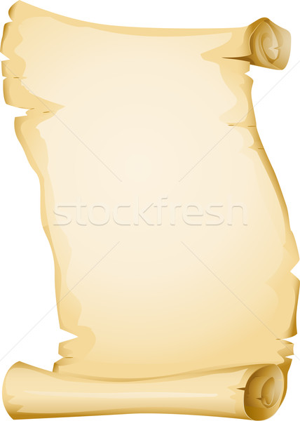 Blank Scroll Stock photo © lenm