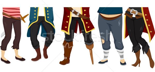 Pirates Feet Stock photo © lenm