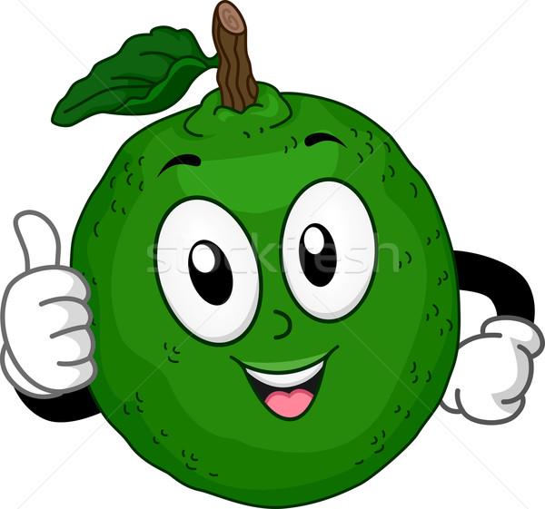 Mascot Lime Fruit Stock photo © lenm