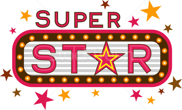 Super Star Stock photo © lenm