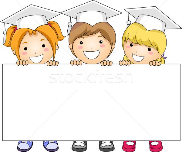 Kids Banner Stock photo © lenm