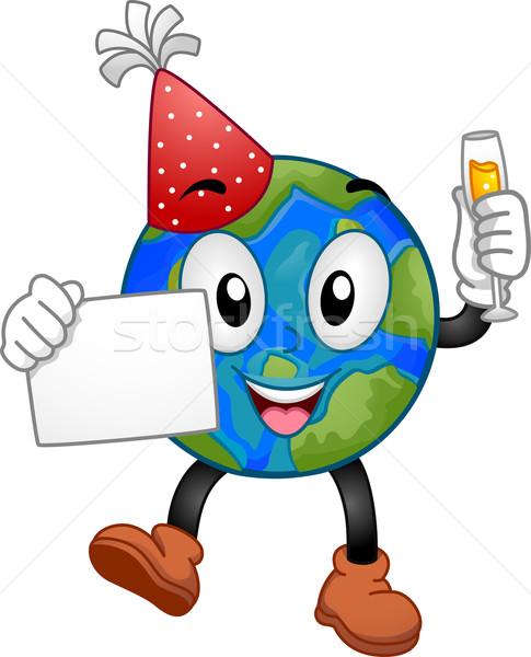 New Year Earth Mascot Stock photo © lenm