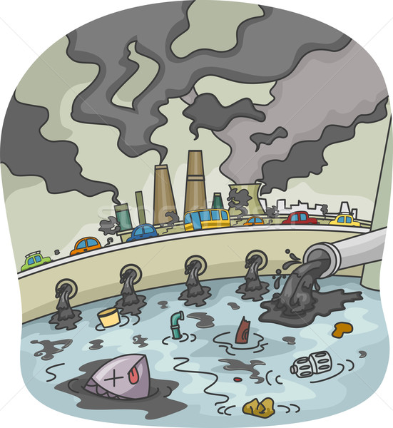 Pollution Stock photo © lenm