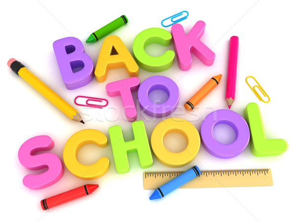 Back to School Stock photo © lenm