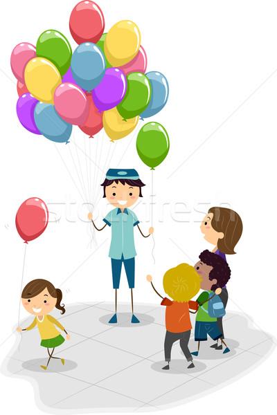 Balloon Vendor Stock photo © lenm