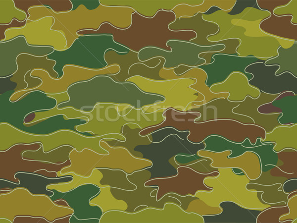 Camouflage print achtergrond illustratie patroon cartoon Stockfoto © lenm