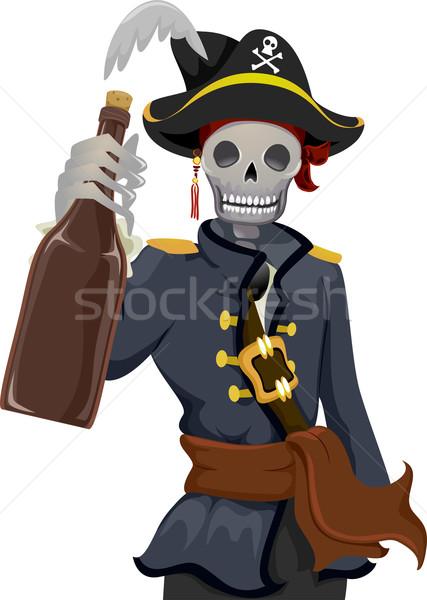 Pirate Rhum Stock photo © lenm