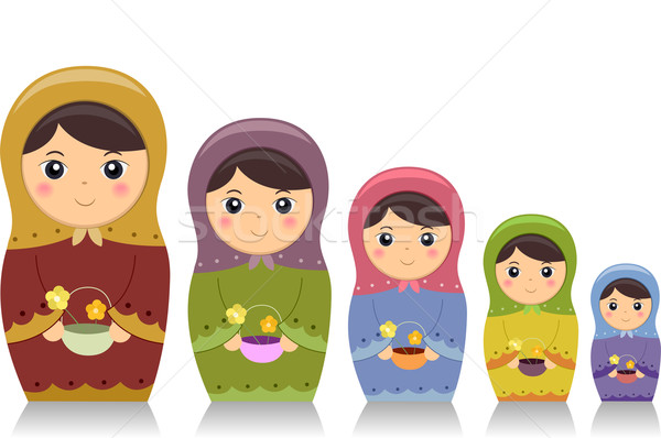 Matryoshka Dolls Stock photo © lenm