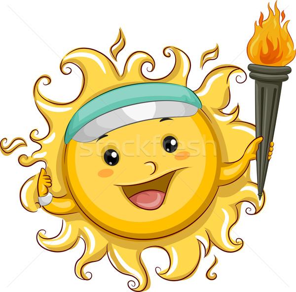 Sun Summer Sports Stock photo © lenm