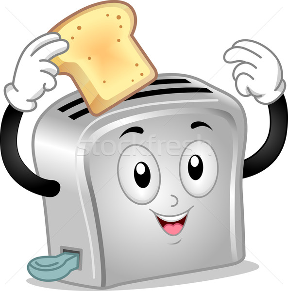 Toaster Mascot Stock photo © lenm