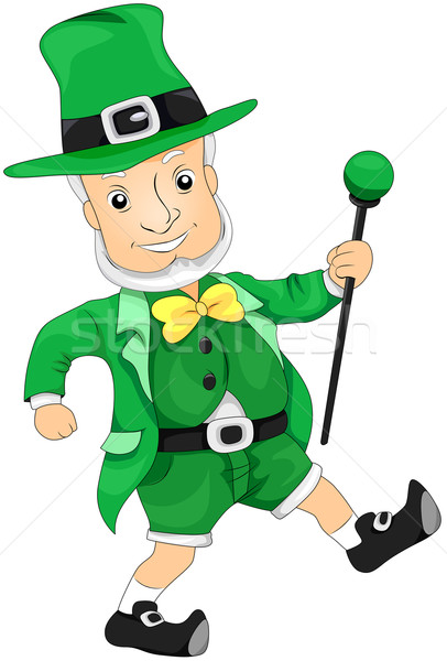 Leprechaun Stock photo © lenm