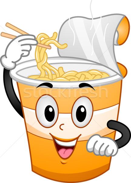 Cup Noodles Mascot Stock photo © lenm