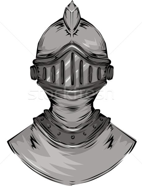 Knight's Helmet Stock photo © lenm