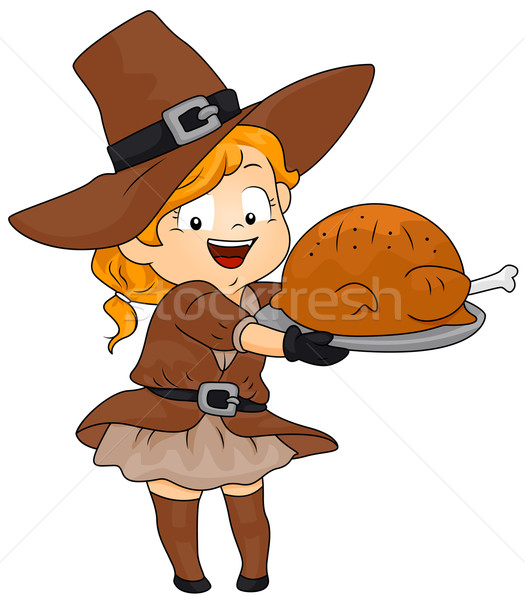 Thanksgiving Turkey Stock photo © lenm