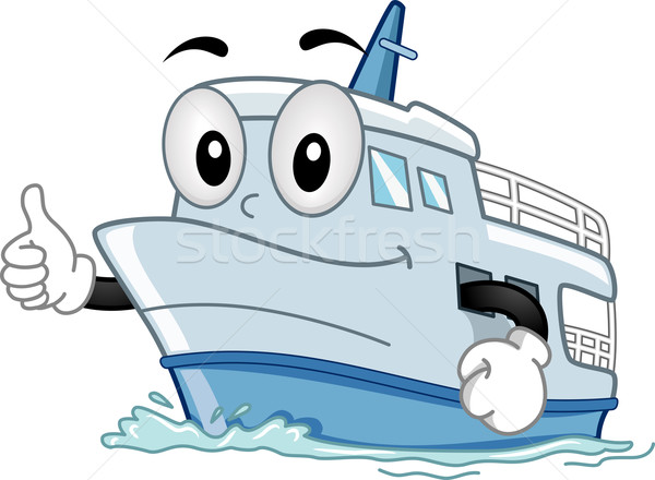 Stock photo: Mascot Ship