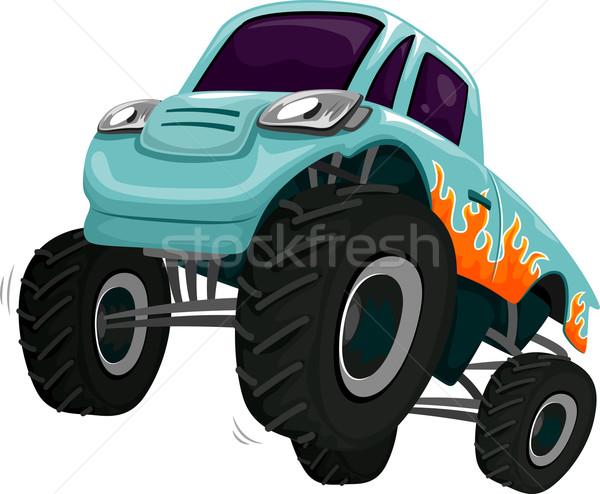 Stock photo: Monster Truck