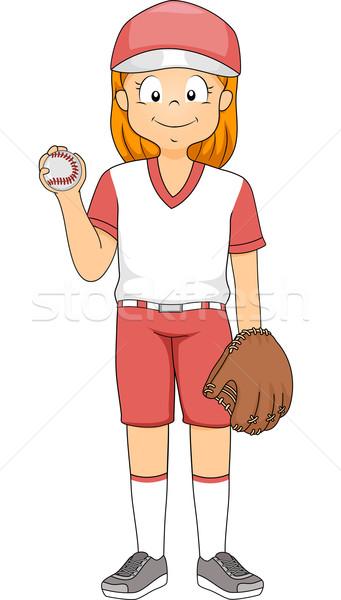 Baseball Pitcher Stock photo © lenm