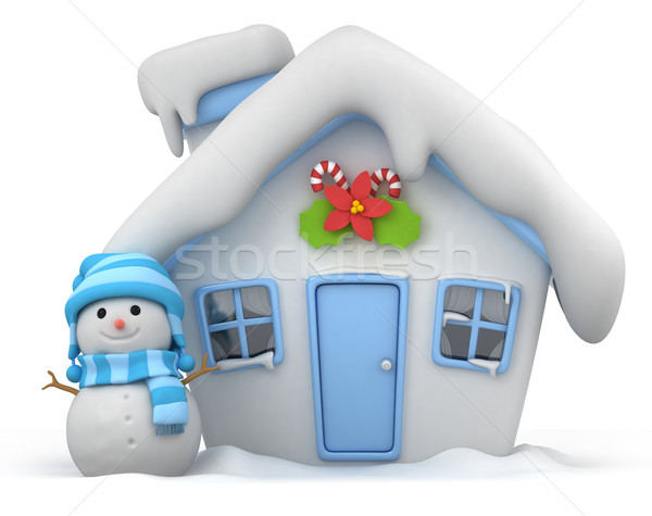 Stock photo: Christmas House