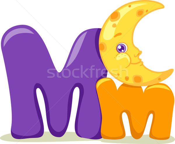 Letter M Stock photo © lenm