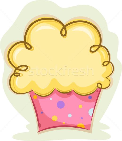 Cupcake Stock photo © lenm