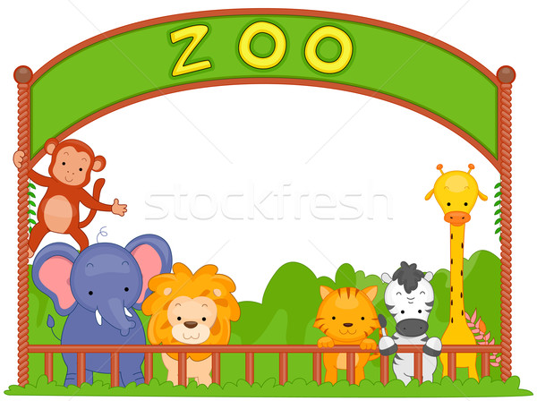 Zoo Animals Stock photo © lenm