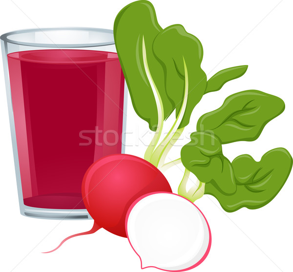 Radish Juice Stock photo © lenm