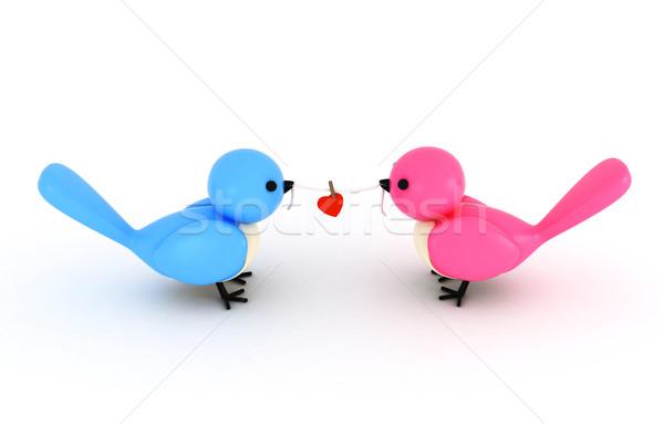 Love Bird Stock photo © lenm