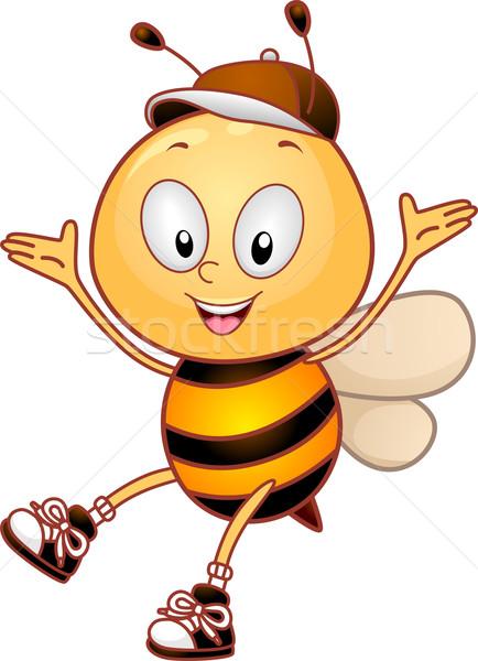 Happy Bee Stock photo © lenm