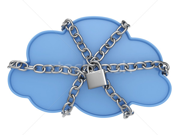 Cloud Data Security Stock photo © lenm