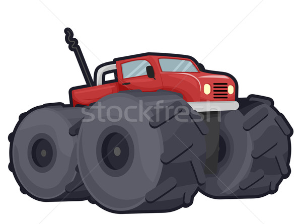 Stock photo: Off Road Truck