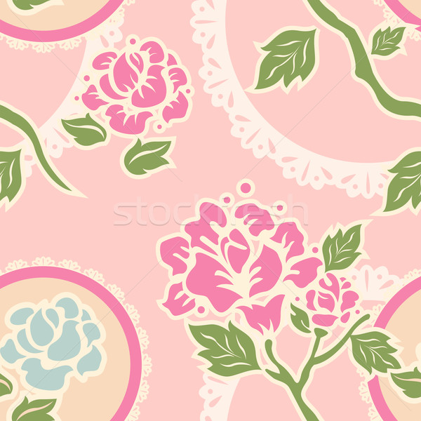 Shabby Chic Background Stock photo © lenm