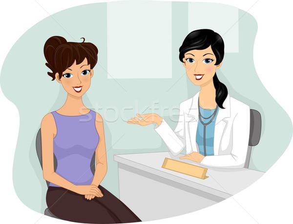 Medical Checkup Stock photo © lenm