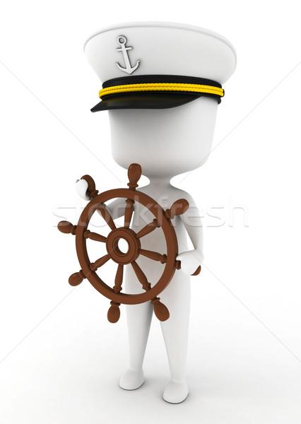Ship Captain Stock photo © lenm